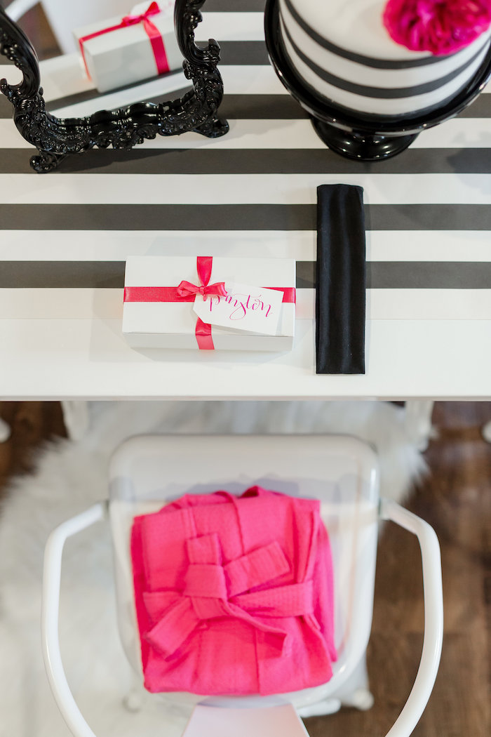 Kate Spade Inspired Spa Birthday Party on Kara's Party Ideas | KarasPartyIdeas.com (41)