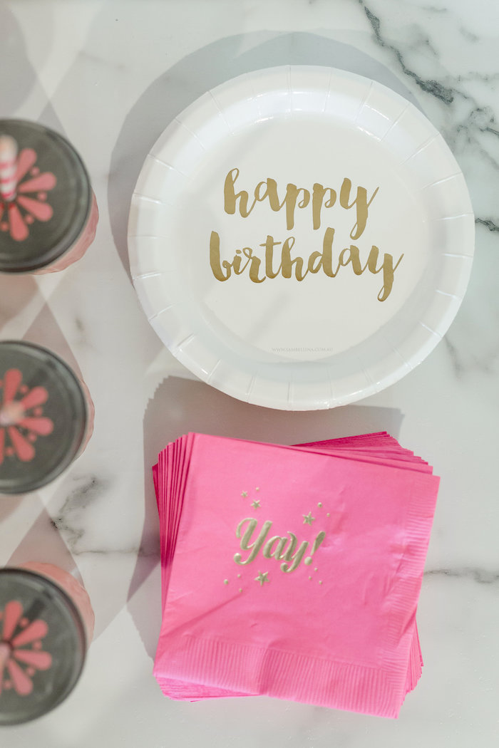 Kate Spade Inspired Spa Birthday Party on Kara's Party Ideas | KarasPartyIdeas.com (32)