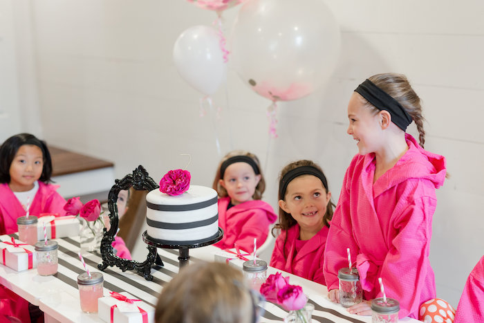 Kate Spade Inspired Spa Birthday Party on Kara's Party Ideas | KarasPartyIdeas.com (13)