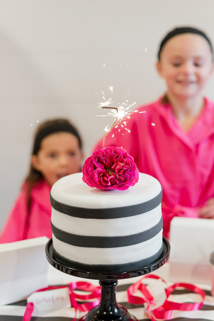 Kate Spade Inspired Spa Birthday Party on Kara's Party Ideas | KarasPartyIdeas.com (9)