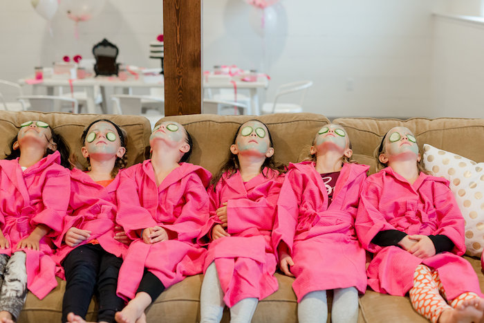 Kate Spade Inspired Spa Birthday Party on Kara's Party Ideas | KarasPartyIdeas.com (7)