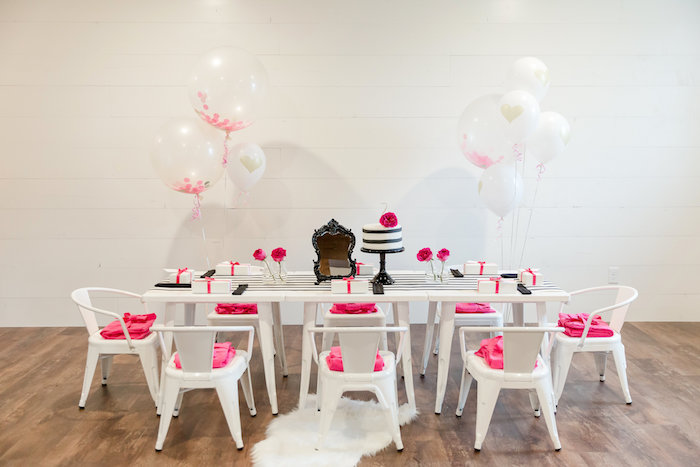 Kate Spade Inspired Spa Birthday Party on Kara's Party Ideas | KarasPartyIdeas.com (52)