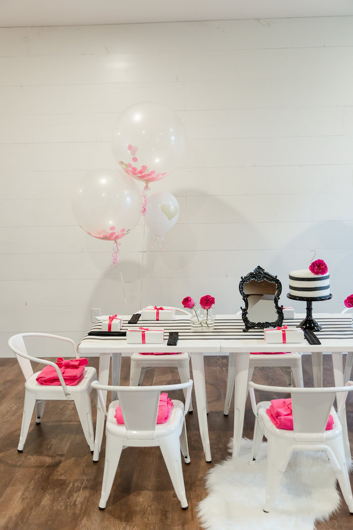 Kate Spade Inspired Spa Birthday Party on Kara's Party Ideas | KarasPartyIdeas.com (50)