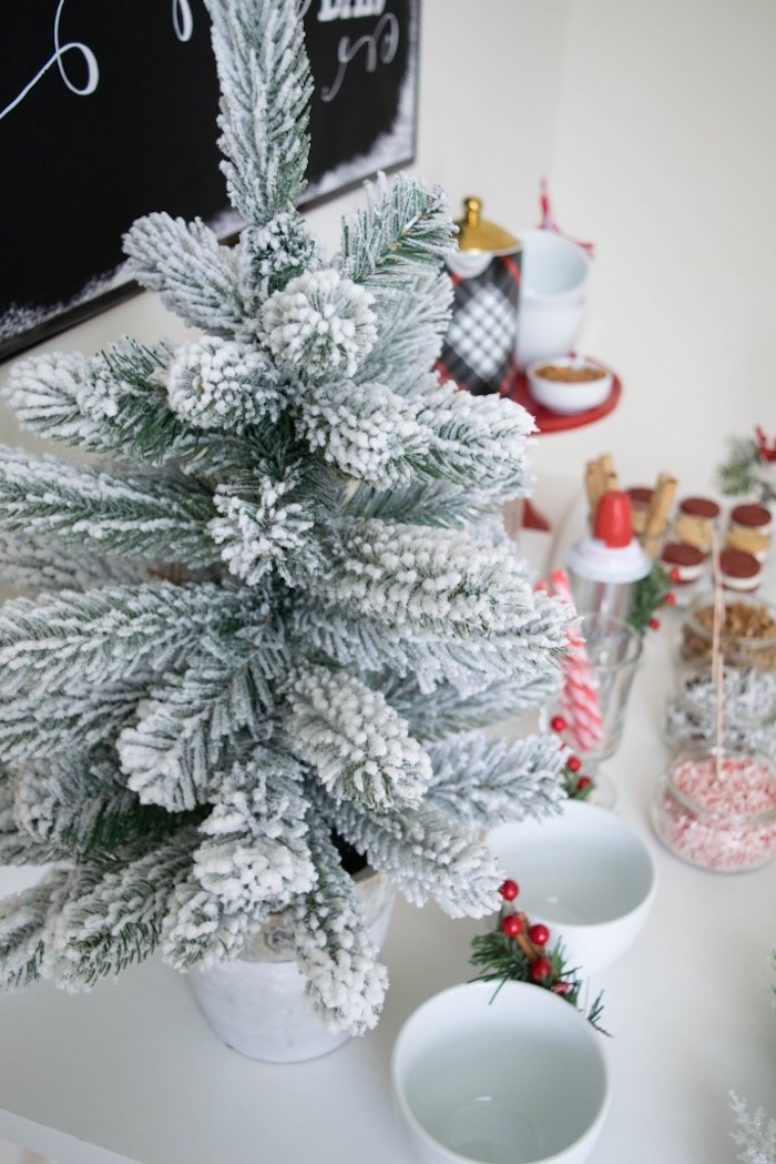 Let it Snow Holiday Party on Kara's Party Ideas | KarasPartyIdeas.com (52)