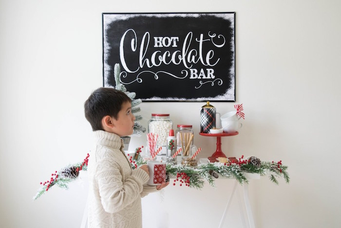 Let it Snow Holiday Party on Kara's Party Ideas | KarasPartyIdeas.com (44)