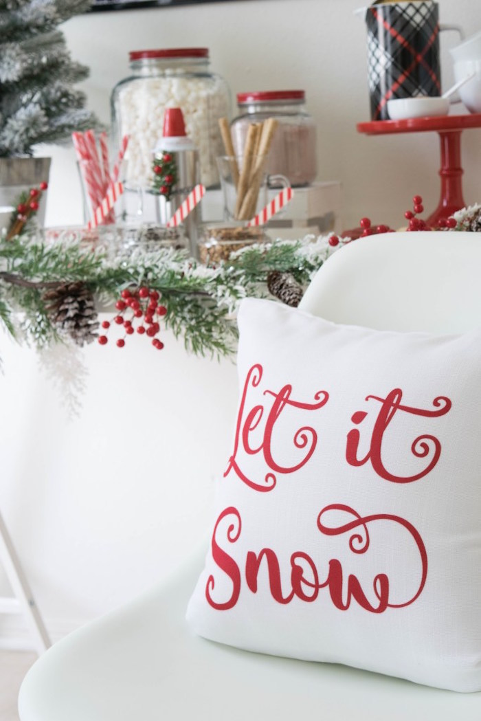 Let it Snow Holiday Party on Kara's Party Ideas | KarasPartyIdeas.com (42)