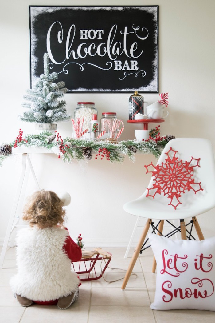 Let it Snow Holiday Party on Kara's Party Ideas | KarasPartyIdeas.com (39)