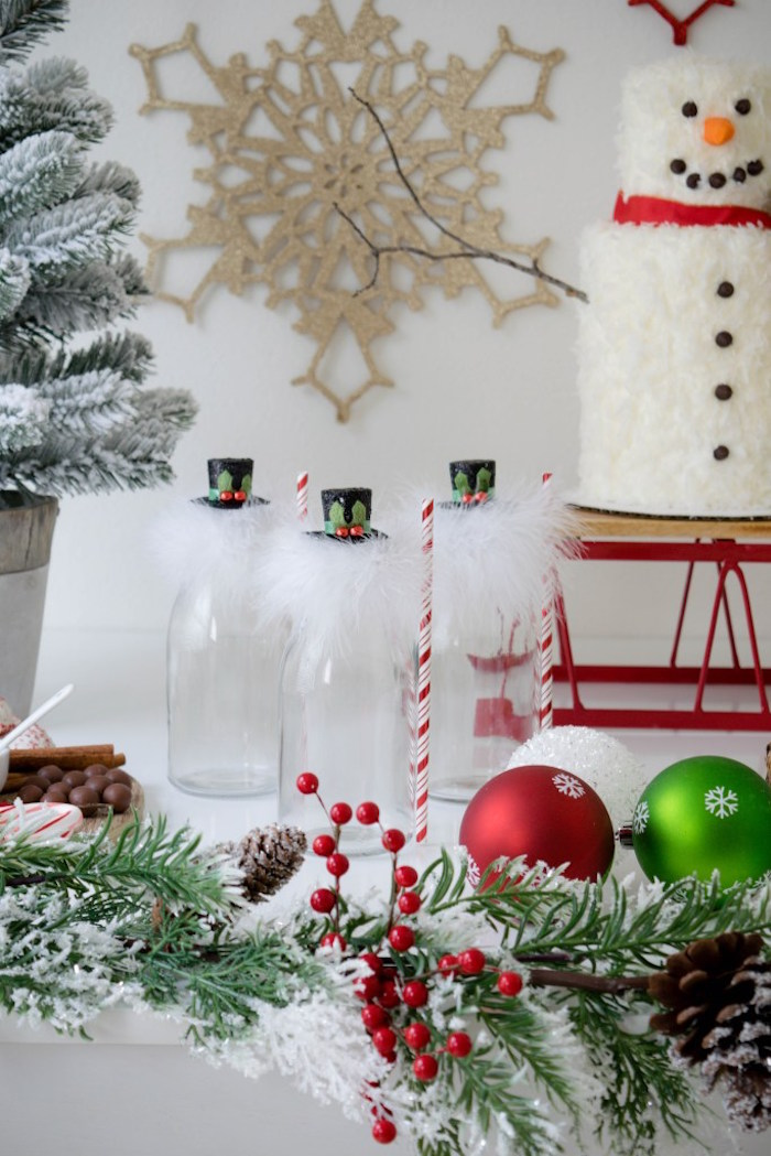 Let it Snow Holiday Party on Kara's Party Ideas | KarasPartyIdeas.com (35)