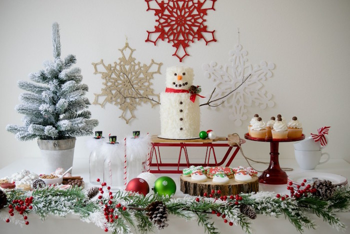 Let it Snow Holiday Party on Kara's Party Ideas | KarasPartyIdeas.com (33)