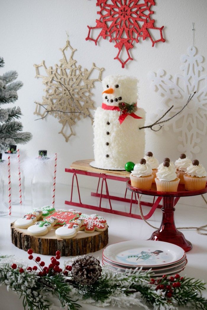 Let it Snow Holiday Party on Kara's Party Ideas | KarasPartyIdeas.com (32)