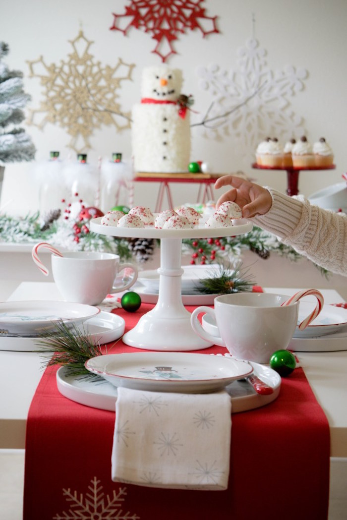 Let it Snow Holiday Party on Kara's Party Ideas | KarasPartyIdeas.com (10)