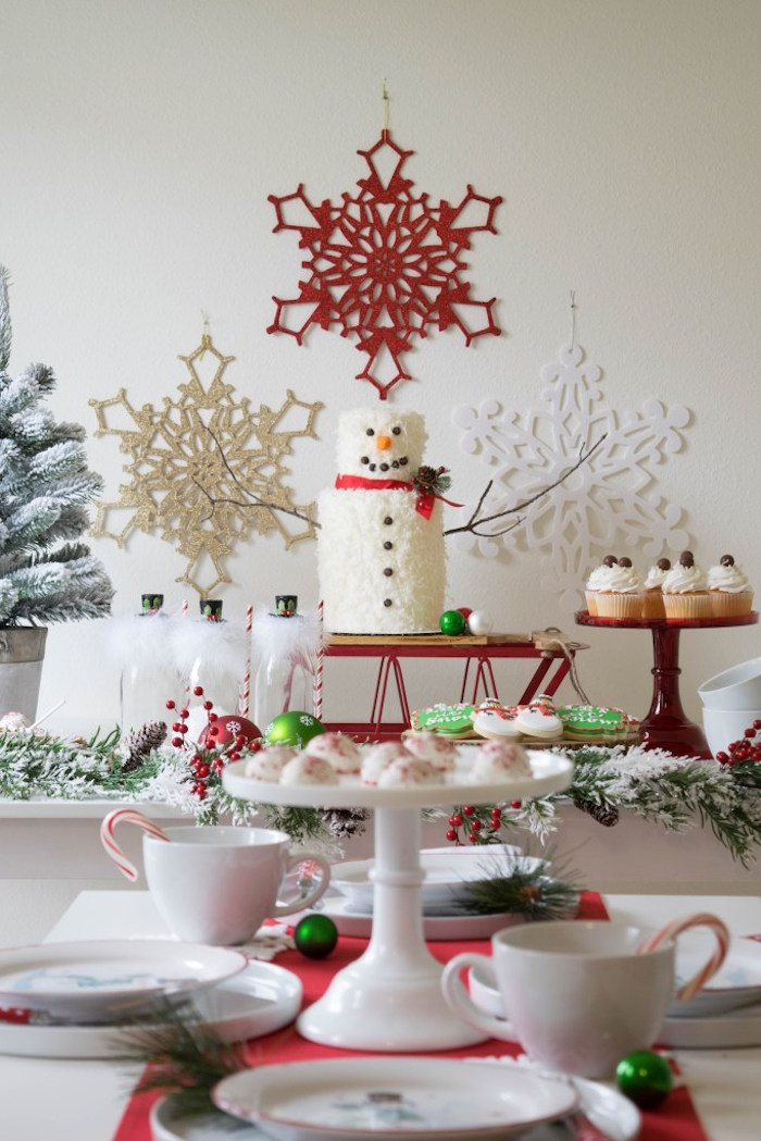 Let it Snow Holiday Party on Kara's Party Ideas | KarasPartyIdeas.com (9)