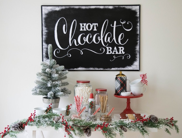 Let it Snow Holiday Party on Kara's Party Ideas | KarasPartyIdeas.com (56)