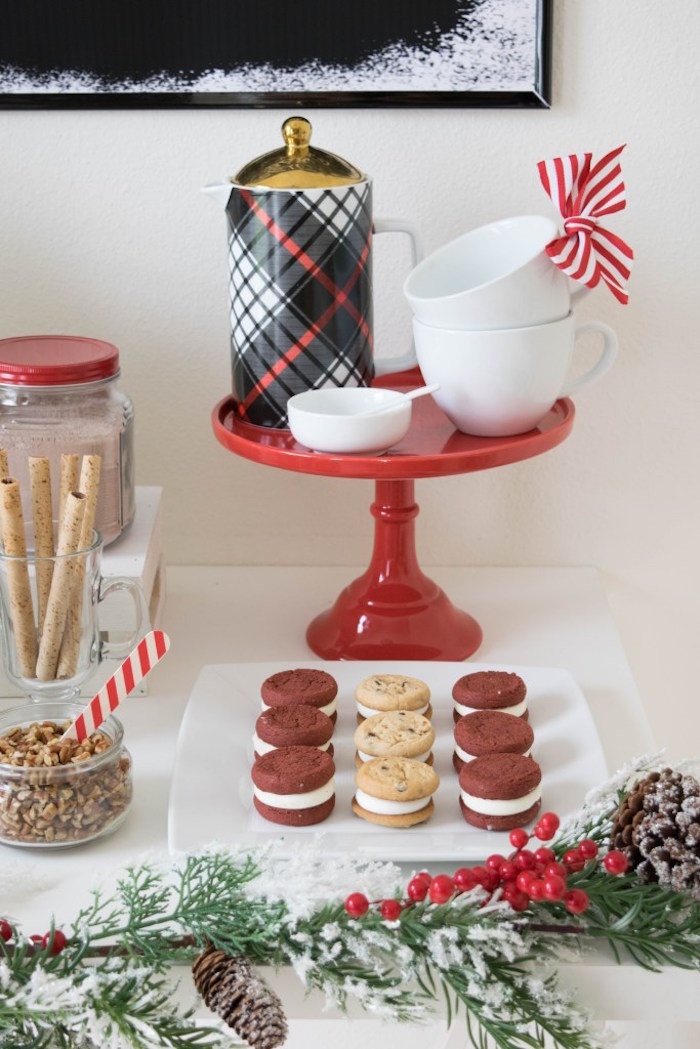 Let it Snow Holiday Party on Kara's Party Ideas | KarasPartyIdeas.com (54)