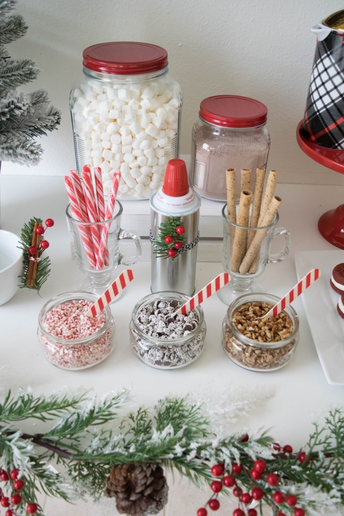 Let it Snow Holiday Party on Kara's Party Ideas | KarasPartyIdeas.com (53)