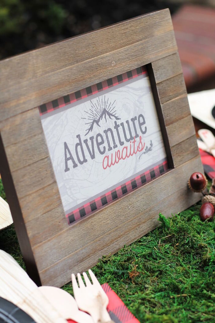 Little Lumberjack Birthday Party on Kara's Party Ideas | KarasPartyIdeas.com (57)