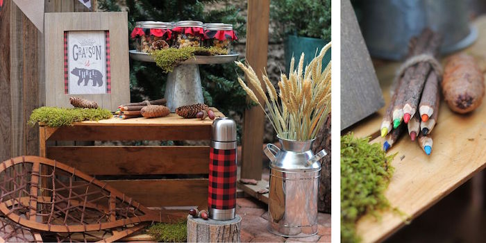 Little Lumberjack Birthday Party on Kara's Party Ideas | KarasPartyIdeas.com (55)