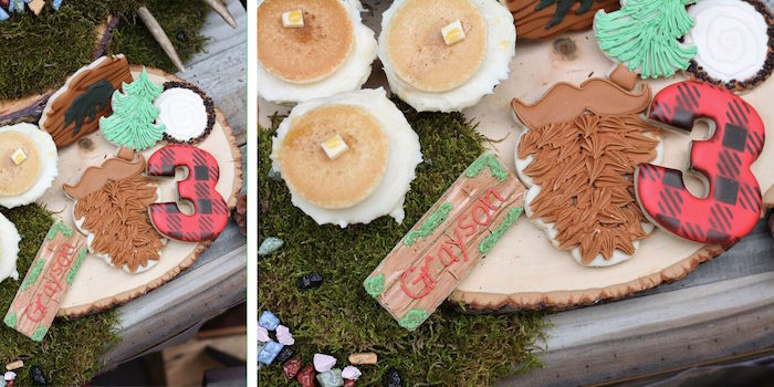Little Lumberjack Birthday Party on Kara's Party Ideas | KarasPartyIdeas.com (54)