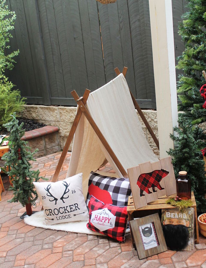 Little Lumberjack Birthday Party on Kara's Party Ideas | KarasPartyIdeas.com (52)