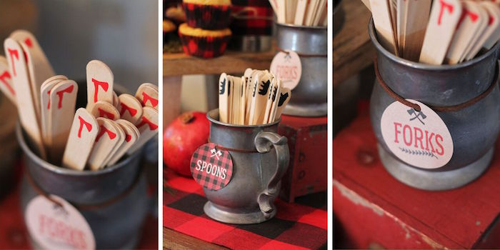 Little Lumberjack Birthday Party on Kara's Party Ideas | KarasPartyIdeas.com (49)