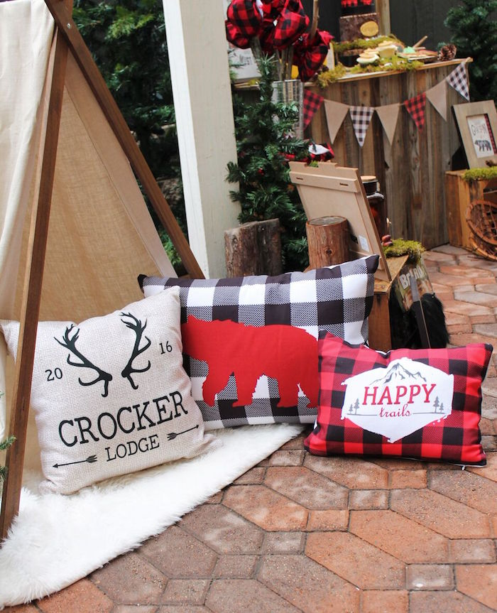 Little Lumberjack Birthday Party on Kara's Party Ideas | KarasPartyIdeas.com (48)