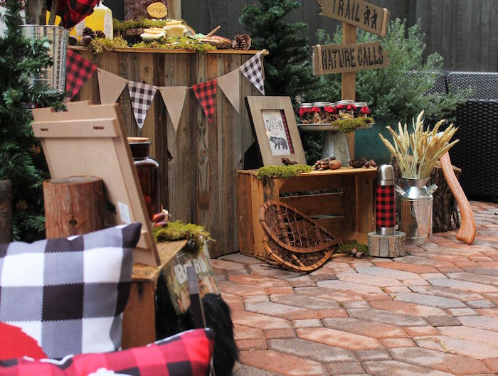 Little Lumberjack Birthday Party on Kara's Party Ideas | KarasPartyIdeas.com (47)