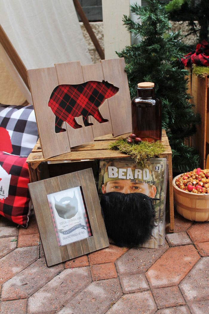 Little Lumberjack Birthday Party on Kara's Party Ideas | KarasPartyIdeas.com (43)