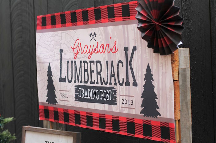 Little Lumberjack Birthday Party on Kara's Party Ideas | KarasPartyIdeas.com (38)