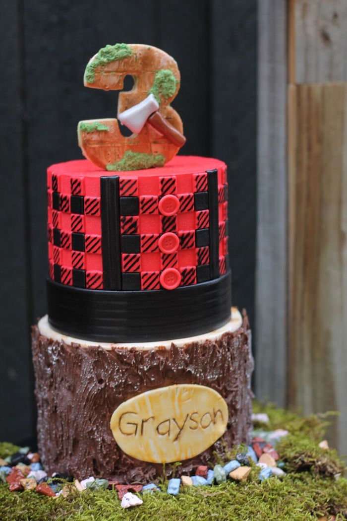 Little Lumberjack Birthday Party on Kara's Party Ideas | KarasPartyIdeas.com (36)