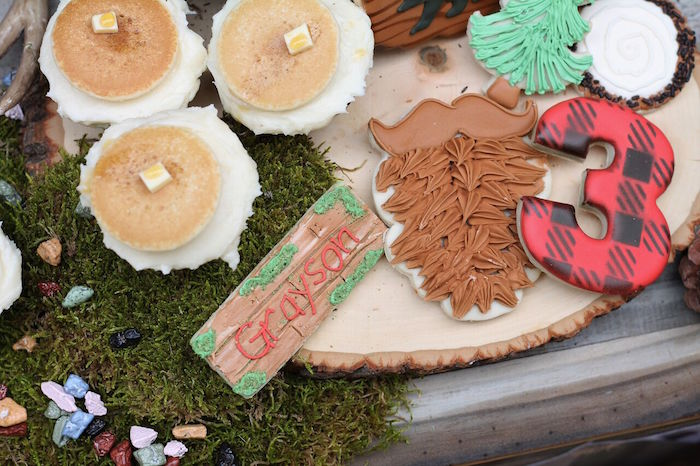 Little Lumberjack Birthday Party on Kara's Party Ideas | KarasPartyIdeas.com (32)