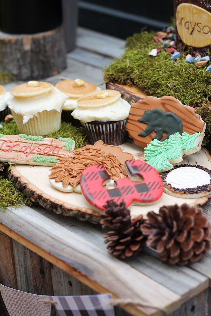 Little Lumberjack Birthday Party on Kara's Party Ideas | KarasPartyIdeas.com (31)