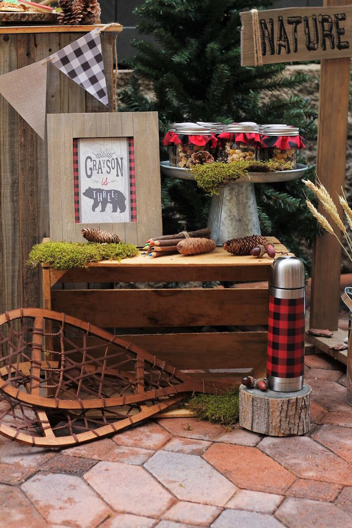 Little Lumberjack Birthday Party on Kara's Party Ideas | KarasPartyIdeas.com (29)