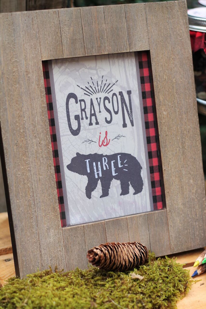 Little Lumberjack Birthday Party on Kara's Party Ideas | KarasPartyIdeas.com (28)