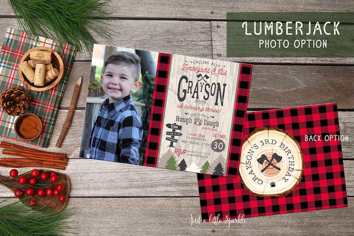 Little Lumberjack Birthday Party on Kara's Party Ideas | KarasPartyIdeas.com (64)