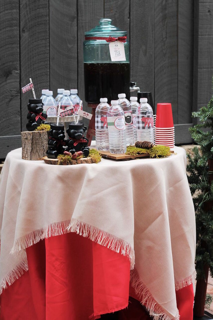 Little Lumberjack Birthday Party on Kara's Party Ideas | KarasPartyIdeas.com (22)