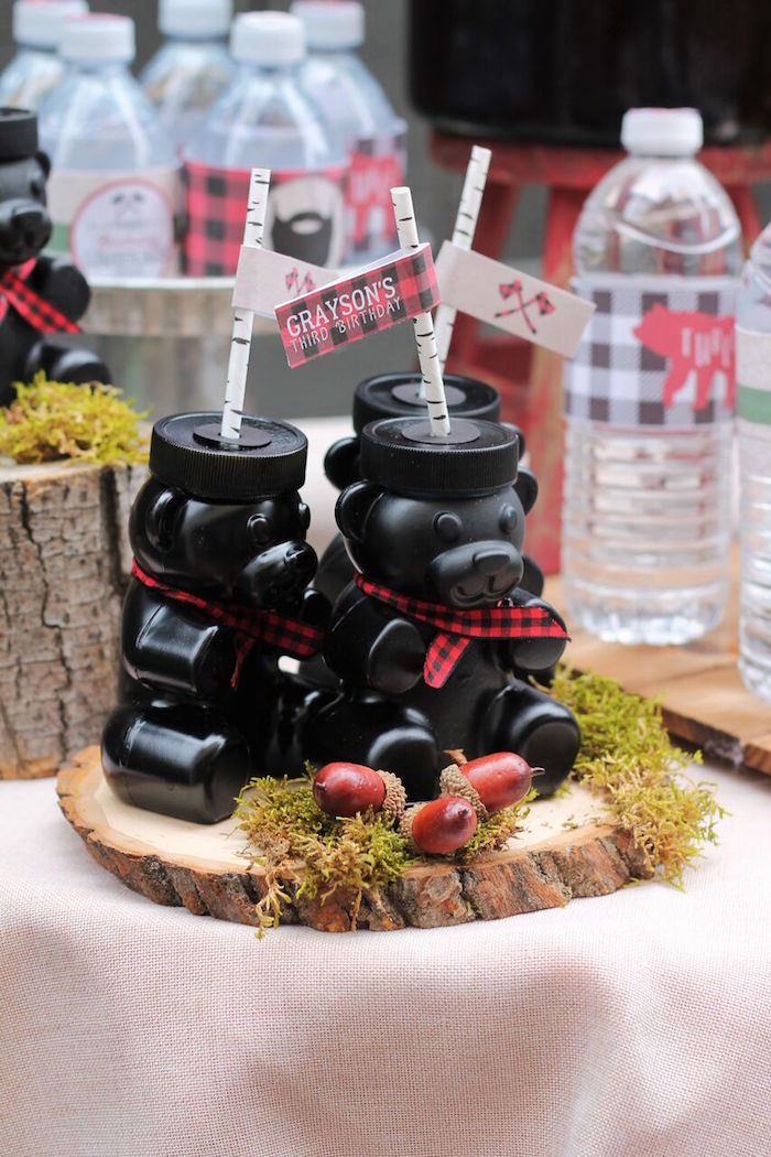 Little Lumberjack Birthday Party on Kara's Party Ideas | KarasPartyIdeas.com (21)