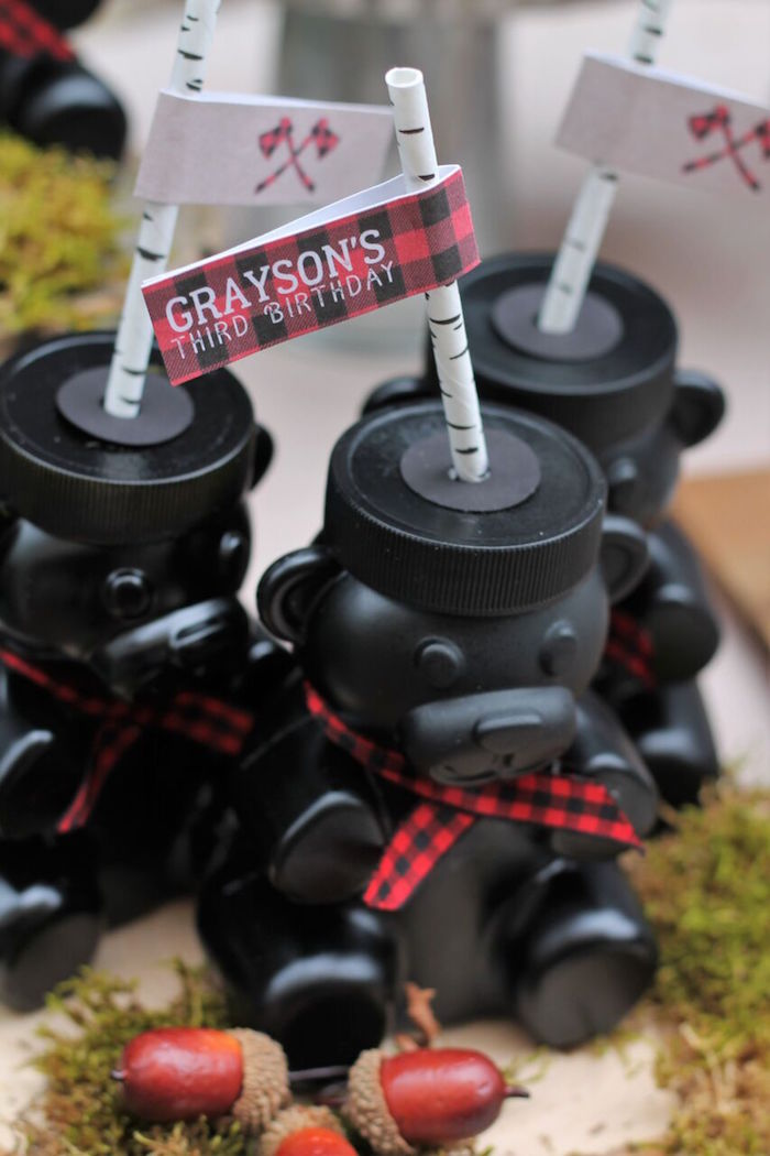 Little Lumberjack Birthday Party on Kara's Party Ideas | KarasPartyIdeas.com (20)