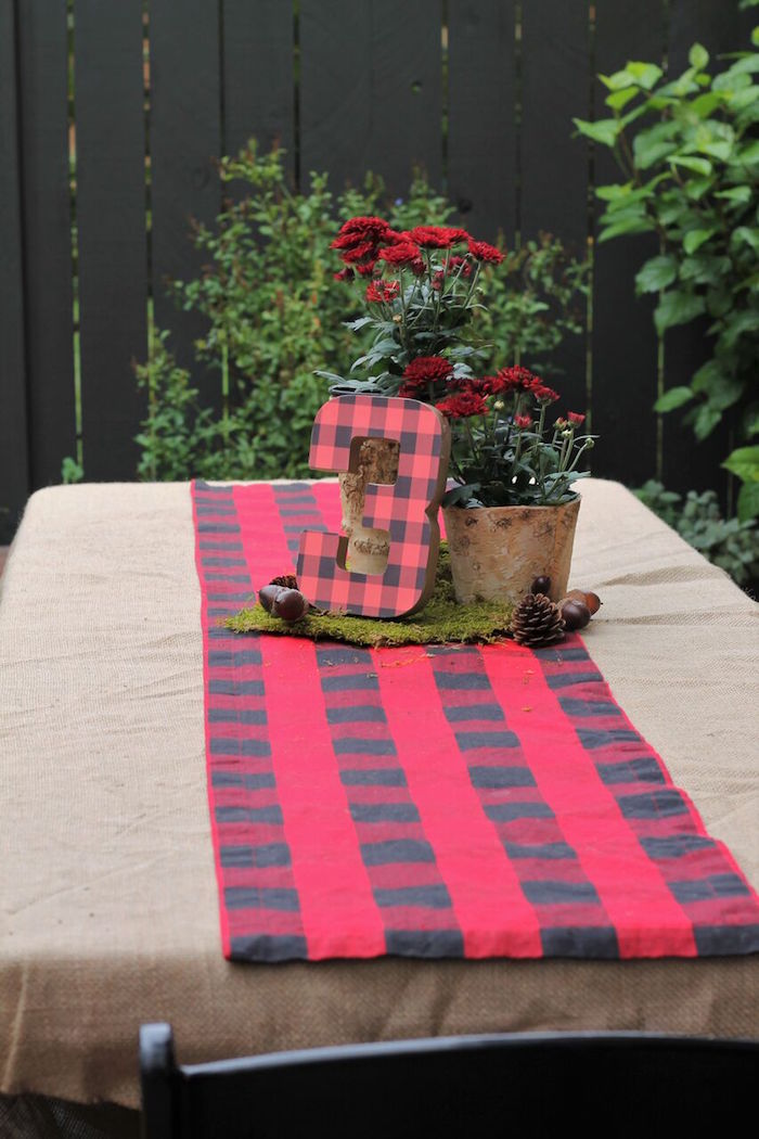 Little Lumberjack Birthday Party on Kara's Party Ideas | KarasPartyIdeas.com (16)