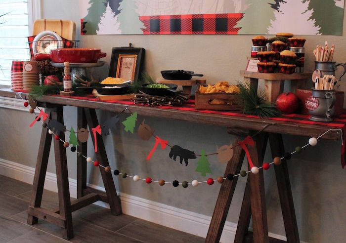 Little Lumberjack Birthday Party on Kara's Party Ideas | KarasPartyIdeas.com (13)