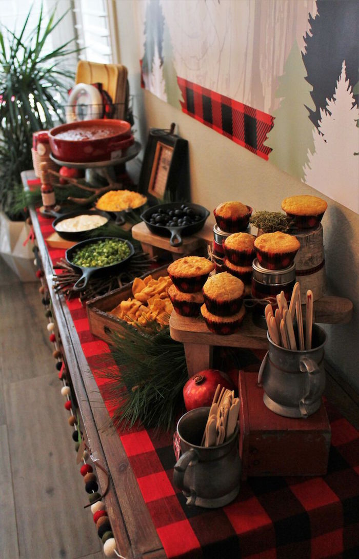 Little Lumberjack Birthday Party on Kara's Party Ideas | KarasPartyIdeas.com (12)