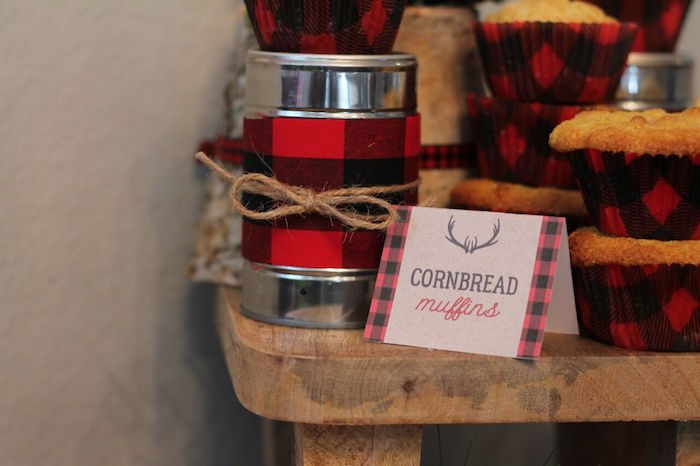 Little Lumberjack Birthday Party on Kara's Party Ideas | KarasPartyIdeas.com (10)