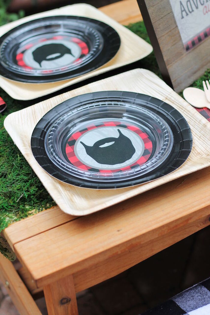 Little Lumberjack Birthday Party on Kara's Party Ideas | KarasPartyIdeas.com (62)
