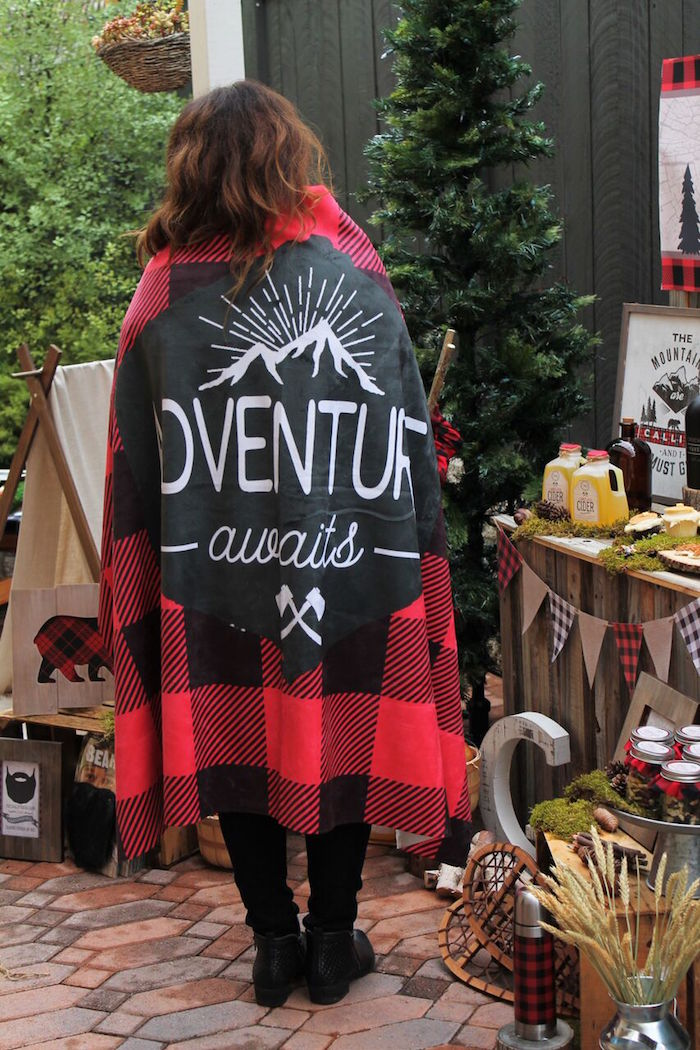 Little Lumberjack Birthday Party on Kara's Party Ideas | KarasPartyIdeas.com (6)