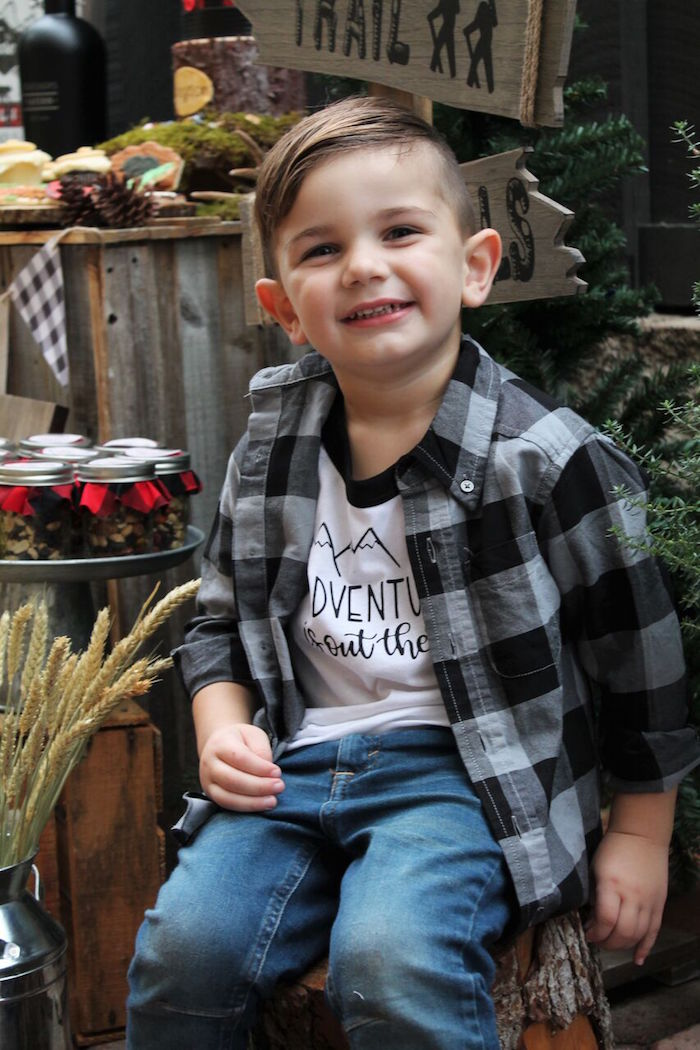 Little Lumberjack Birthday Party on Kara's Party Ideas | KarasPartyIdeas.com (5)