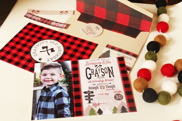 Little Lumberjack Birthday Party on Kara's Party Ideas | KarasPartyIdeas.com (2)