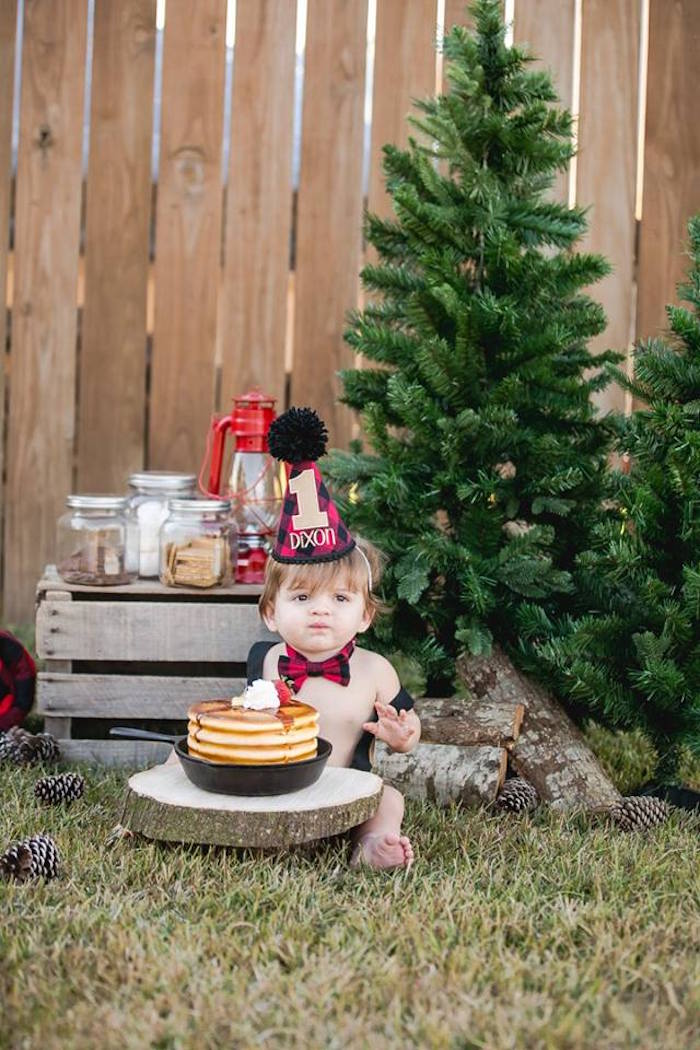Lumberjack Birthday Party on Kara's Party Ideas | KarasPartyIdeas.com (29)