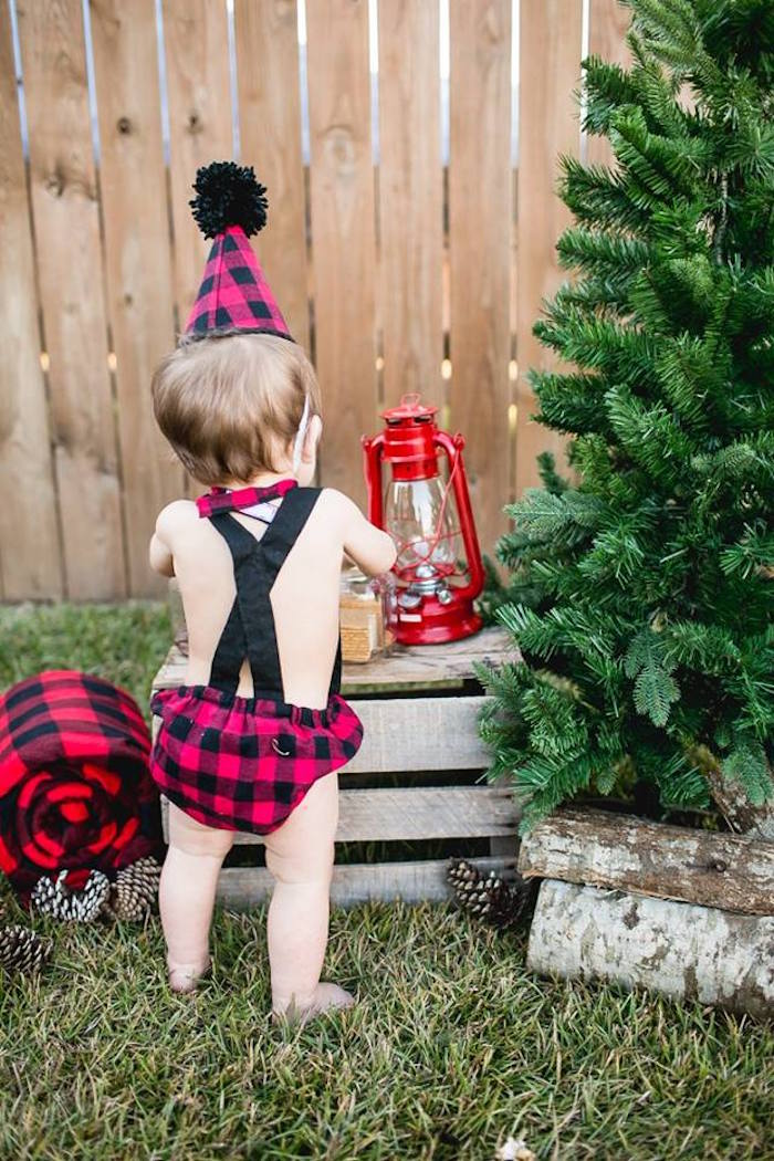 Lumberjack Birthday Party on Kara's Party Ideas | KarasPartyIdeas.com (26)