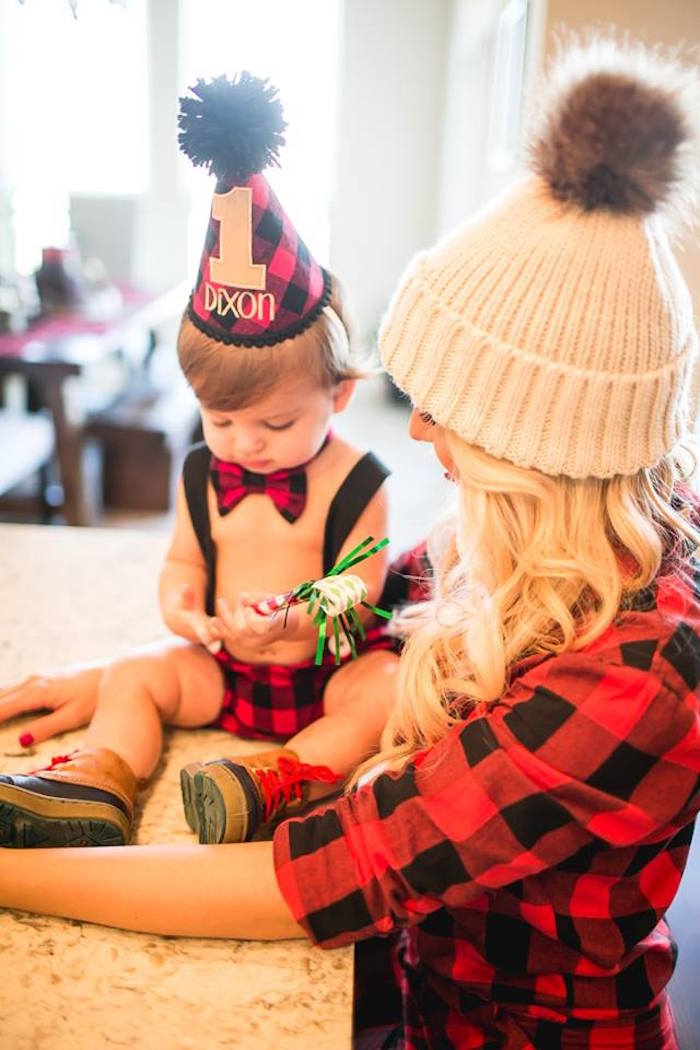 Lumberjack Birthday Party on Kara's Party Ideas | KarasPartyIdeas.com (20)