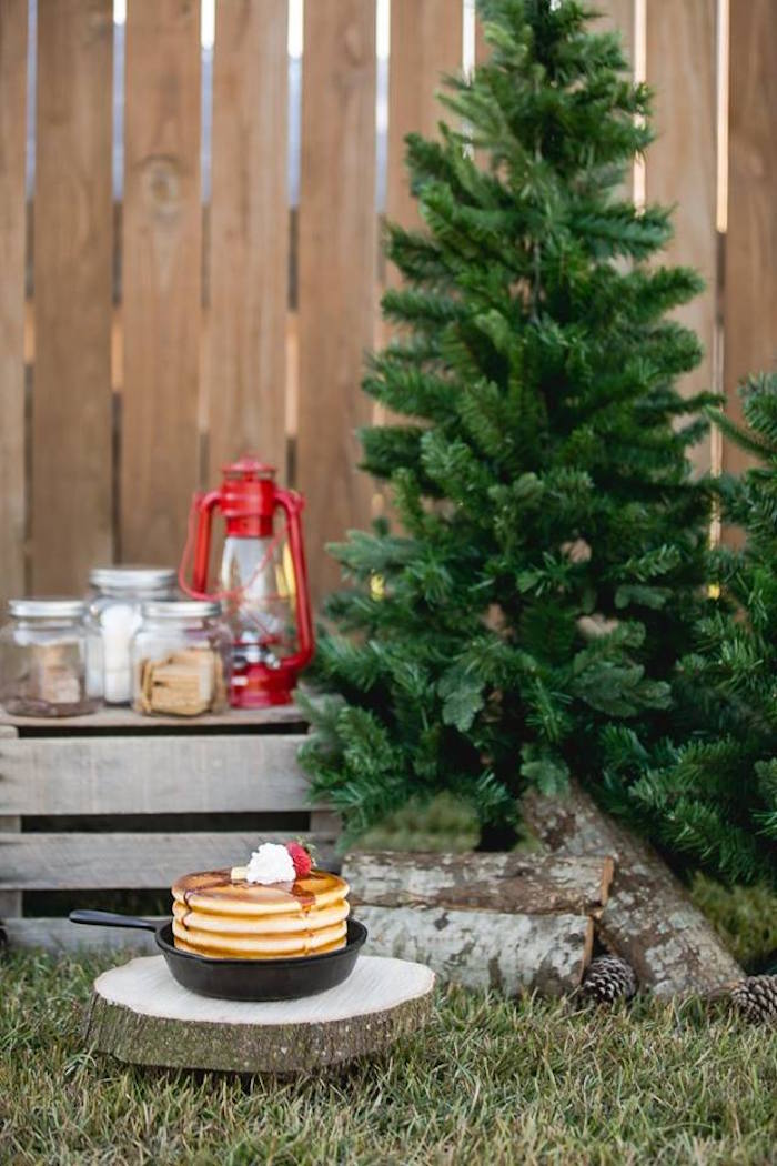 Lumberjack Birthday Party on Kara's Party Ideas | KarasPartyIdeas.com (17)