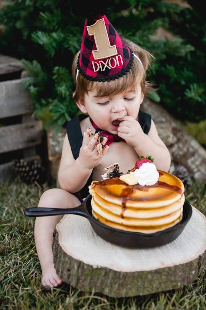 Lumberjack Birthday Party on Kara's Party Ideas | KarasPartyIdeas.com (14)